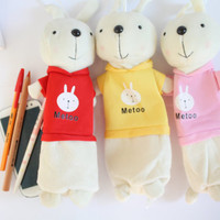 Children cute pencil case /bunny rabbit pencil case/ small pouch/ pencil bag with zipper pouch