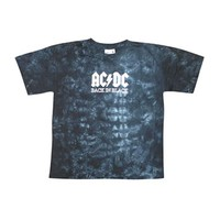 AC/DC Men's  Tie Dye T-shirt Multi