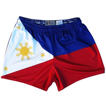Philippine Flag Womens & Girls Sport Shorts by Mile End