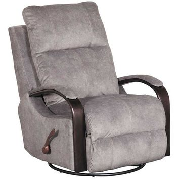 Niles Graphite Swivel Glider Recliner