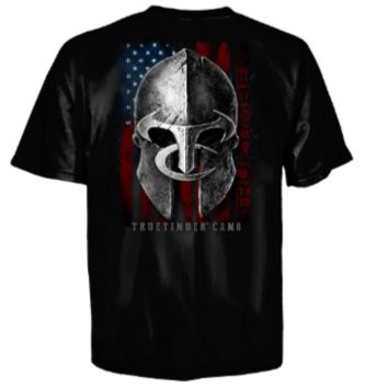 True Timber® Spartan Helmet Short Sleeve T-Shirt