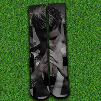 Justin Bieber Purpose Socks,Custom socks,Personalized socks,Elite socks