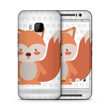 What does the Red Tailed Fox Say Skin for the HTC