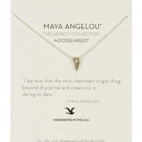 Dogeared | Sterling Silver Maya Angelou: The Legacy Collection Necklace | HauteLook