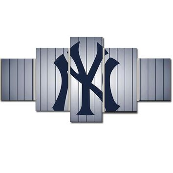 "Fast US Ship - 80"" WIDE New York Yankees"