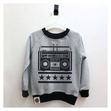 SALE Musical Kids Clothing, Kids Sweater, Kids Sweatshirt, Toddler Clothes, Modern Kids, Hipster Kids Clothing, Trendy Unisex Kids Clothing