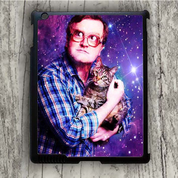 Dream colorful Bubbles Of Trailer Park Boys With Cat iPad 2 Case