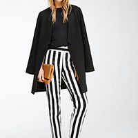 Awning Striped Straight-Leg Trousers