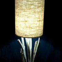 BoGaLeCo.com / Ligths / Lamps / driftwood / Rounded wood Lamp