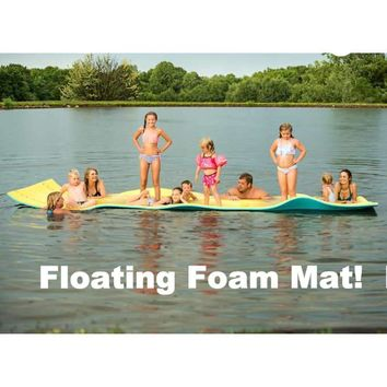 Floating Foam Mat By Aqua Lily. Free Shipping!
