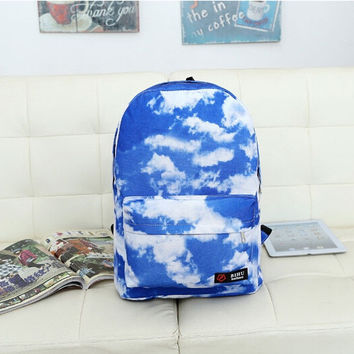 Sky is falling Emo Raver Harajuku Japan Bag School Backpack