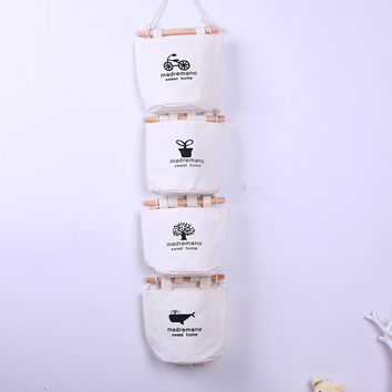 Cotton Linen Storage Bags 1 PCS [6377498564]