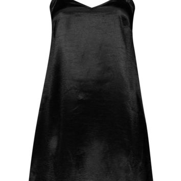 Emmaline Satin Slip Dress | Boohoo