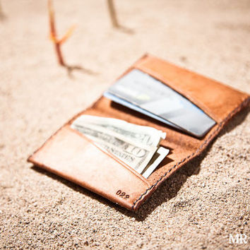 Men's Simple Leather Wallet Card Wallet