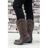 Western Cowboy Boot - Brown