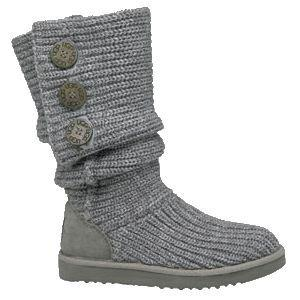 UGG Boots Classic Cardy 5819-Grey Outlet UK