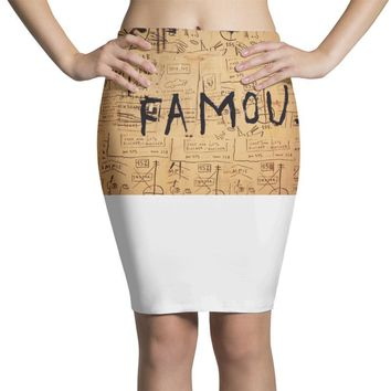 Basquiat Pencil Skirts