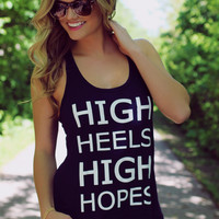 High Standards Graphic Tank