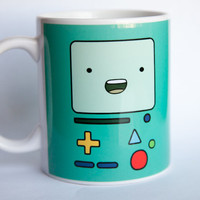 Beemo Mug Coffee or Tea Adventure Time BMO