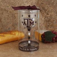 Texas A&M Aggies Women's 16oz Wine Glass
