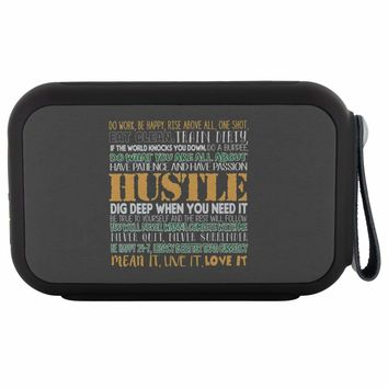 Do Work Be Happy Rise Above All Hustle Wireless Bluetooth Speaker Thumpah