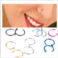 1 Pcs/Lot Nose Hoop Nose Ring