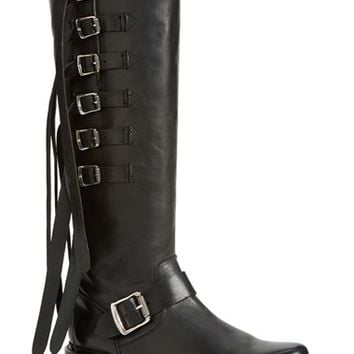 Women's Frye 'Veronica' Buckle Strap Tall Boot,