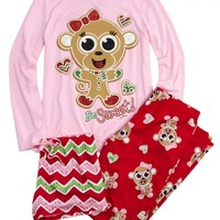 Monkey 3 Piece Pajama Set | Girls Pajamas & Robes Clothes | Shop Justice
