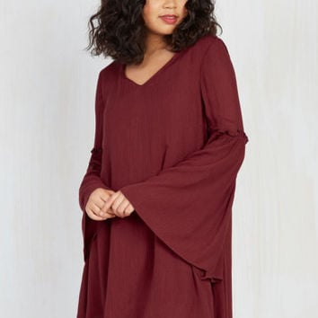 Jack by BB Dakota Saved by the Bell Sleeve Shift Dress | Mod Retro Vintage Dresses | ModCloth.com