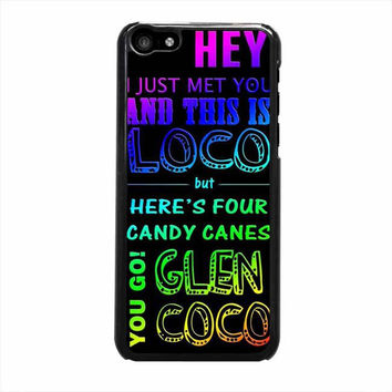 glen coco mean girls inspired poster rainbow iphone 5c 5 5s 4 4s 5c 6 6s plus cases