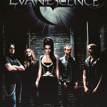 Evanescence Band Portrait Poster 24x36