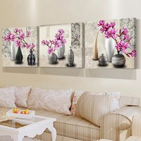Wall Art Canvas Painting Flower Wall Pictures For Living Room Home Decor Wall Painting Decorative Pictures Canvas Art Prints