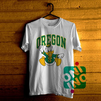 University of Oregon Ducks, NCAA Logo Tshirt For Men / Women Shirt Color Tees