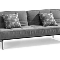 Zuo THEORY Sleeper Sofa - Grey - 900027, Living Room Furniture, Zuo Sleeper Sofa: Nyfurnitureoutlets.com