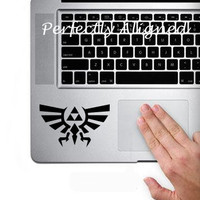 Vinyl Decal - Zelda inspired decal for Macbook trackpad