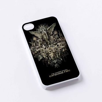 the hunger games cover iPhone 4/4S, 5/5S, 5C,6,6plus,and Samsung s3,s4,s5,s6