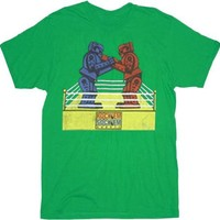 Rock 'Em Sock 'Em Robots Sheldon Adult T-Shirt  - Shirts Sheldon Has Worn - | TV Store Online