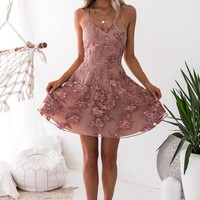 Sassy Dress - Embroidery Rose (PREORDER)