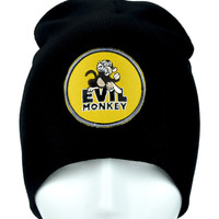 Evil Monkey Beanie Alternative Clothing Knit Cap Family Guy