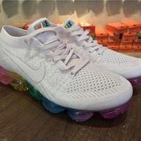 VONE2IS Jacklish Nike Wmns Air Vapormax Flyknit Pink Colorful For Sale