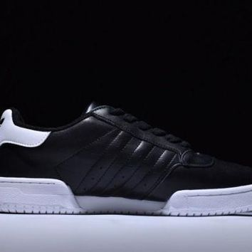 ESBONNF1 Adidas Originals Powerphase. Black Men's Running Trainers Shoes