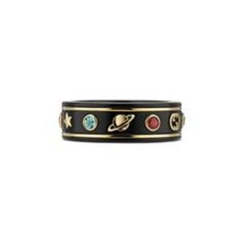 Gucci Icon ring with gemstones
