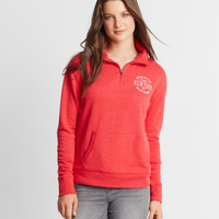 East Coast Mock Quarter-Zip Popover Sweatshirt