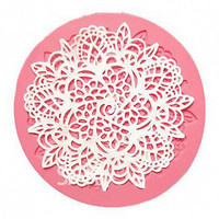 Silicone Lace Fondant Mat Mold Sugar Candy Cake Decorating Mould Baking Tool HU