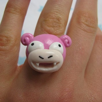 Slowpoke adjustable ring