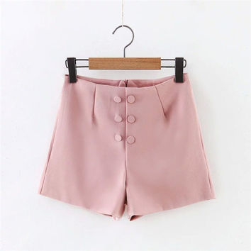 Korean Stylish Summer Women's Fashion Shorts [6048824257]