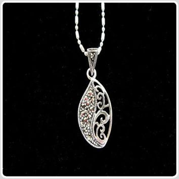 """""""Ground & Protection"""" Hematite Sterling Silver Necklace"""