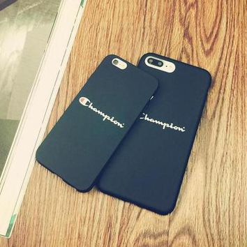 Champion Popular Print iPhone 6 6s 6Plus 6sPlus 7 7 Plus Phone Cover Case