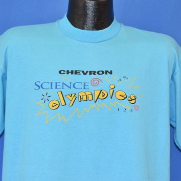 90s Science Olympics Chevron t-shirt Large