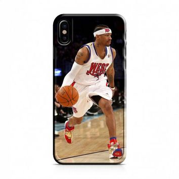 Allen Iverson (dribbling) iPhone X Case